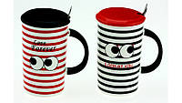 Чашка с глазами,2 вида