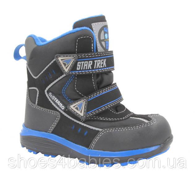 292d13723 Термо ботинки зимние для мальчика B&G (Би Джи) 187-58