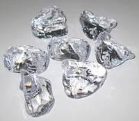 Искусственный лёд 5*4*3 см, прозрачный - 400 гр.