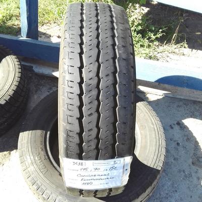 Бусовские шины б.у. / резина бу 195.70.r15с Continental Vanco 6 Континенталь