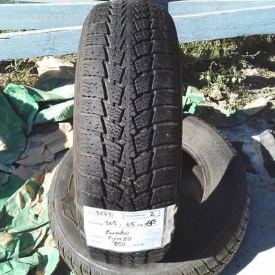 Бусовские шины б.у. (усиленная резина бу) 205.65.r15с Kumho Powergrip KC11 Кумхо