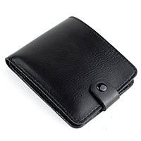 Кожаное портмоне П1-01 (черный), фото 1