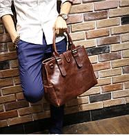 Мужская кожаная сумка. Модель 63205, фото 8