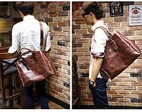 Мужская кожаная сумка. Модель 63205, фото 9