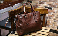 Мужская кожаная сумка. Модель 63205, фото 4