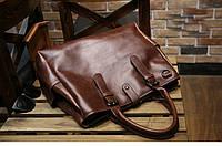 Мужская кожаная сумка. Модель 63205, фото 7