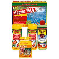 Sera pond algovec Set 1 - комплект для удаления нитевидных водорослей в прудах, на 5000 л