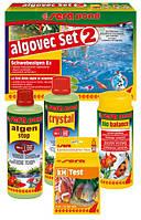 Sera pond algovec Set 2 - комплект для удаления плавающих водорослей на 5000 л
