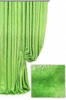 Ткань  блэкаут софт салатовый №25