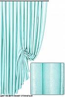 Ткань  блэкаут софт голубой  №24