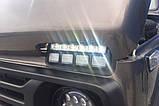 Подфарники (надфарники) с ДХО на Ниву с реле, фото 4