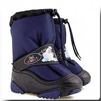 Обувь детская зимняя Демар SNOWMEN темно-синий Размер:20-29