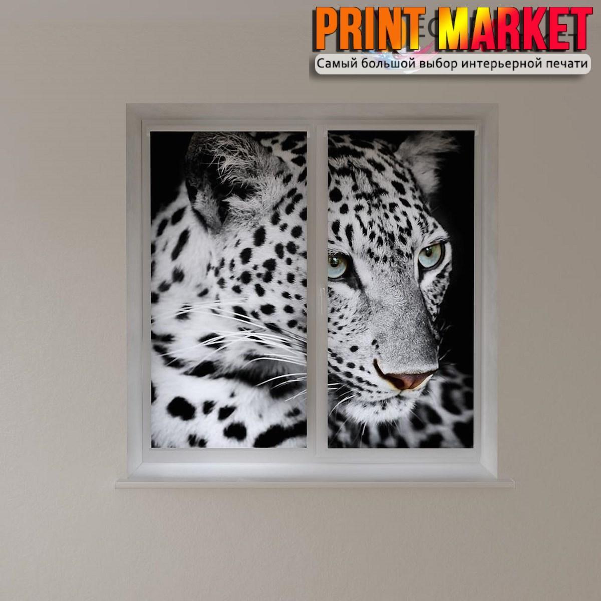 Рулонные шторы с фотопечатью тигрица