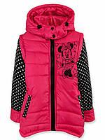 Куртка жилетка для девочки Код дод50