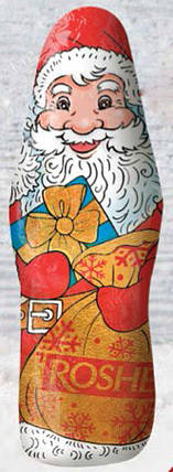 "Шоколадные фигуры ""Дiд Мороз Roshen"", 100 г, фото 2"