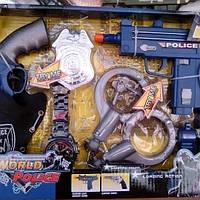 Детский полицейский набор с кабурой 34