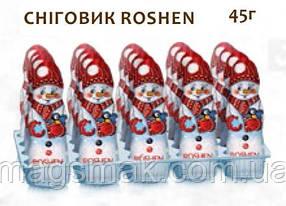 """Шоколадные фигуры """"Снiговик Roshen"""", 45 г"""