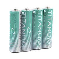 Батарейка солевая Titanum  R6P/AA 4pcs