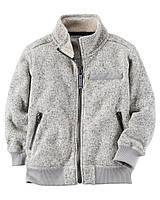 Кофта утепленная Carters на мальчика 4-8 лет Full-Zip Fleece Sweater