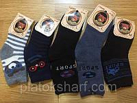 Махровые носочки для мальчиков  р.21-36