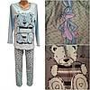 Женские байковые пижамки
