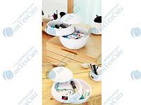 Мини мульти-бокс для ванной SPIRELLA polystyrene Bowl-Shiny  10.16260