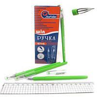 Ручка Win  гел зеленая  WZ-571 C (12/288)