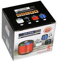 Радио +USB мини колонка   WS-90 Y
