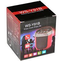 Радио +USB мини колонка  WS-92 B-91