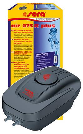 Воздушный компрессор для аквариума Sera air Pump,  275 л/ч, фото 2