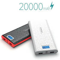 Power Bank Внешний аккумулятор PINENG 20 000 mAh с дисплеем заряда P920