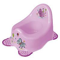 Детский горшок Hippo pink Keeeper Okt
