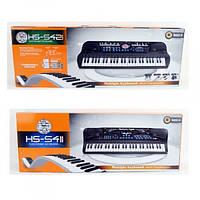 Детский пианино синтезатор HS5411-21, 54 клавиши. Микрофон.