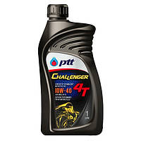 Моторное масло PTT Challenger 4T 10W-40 полусинтетика 1 л