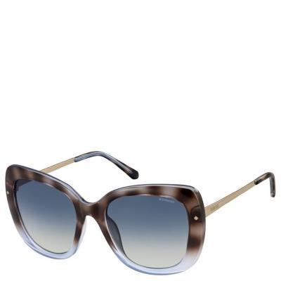 Солнцезащитные очки Polaroid Очки женские с поляризационными ультралегкими  линзами POLAROID (ПОЛАРОИД) P4044S-O7053Z7 81e3eb00e2982