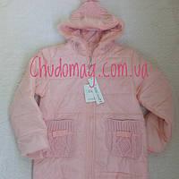 Куртка демисезонная для девочки Цвет пудра 5-6 лет 6-7 лет