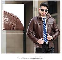 Куртка текстура рептилии с натуральной кожи на овчине,дубленка  молодежная.
