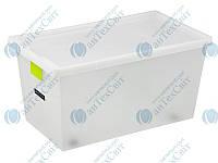 Ящик для хранения с крышкой 70л PLAST TEAM TagStore (02398)