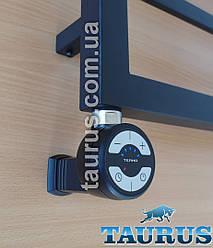 Чорний ТЕН TERMA MOA MS Black +регулятор 30-65C +таймер 2ч. +маскування дроти. Для комбі/електро. Польща 1/2