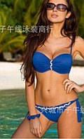 Роскошный, женский, раздельный купальник с твердыми чашечками. Фабричный Китай!!! РАЗНЫЕ ЦВЕТА