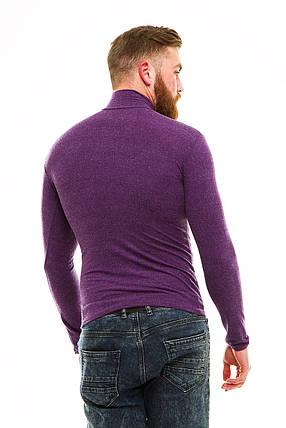Гольф теплый кашемир фиолетовый 46-50, фото 2