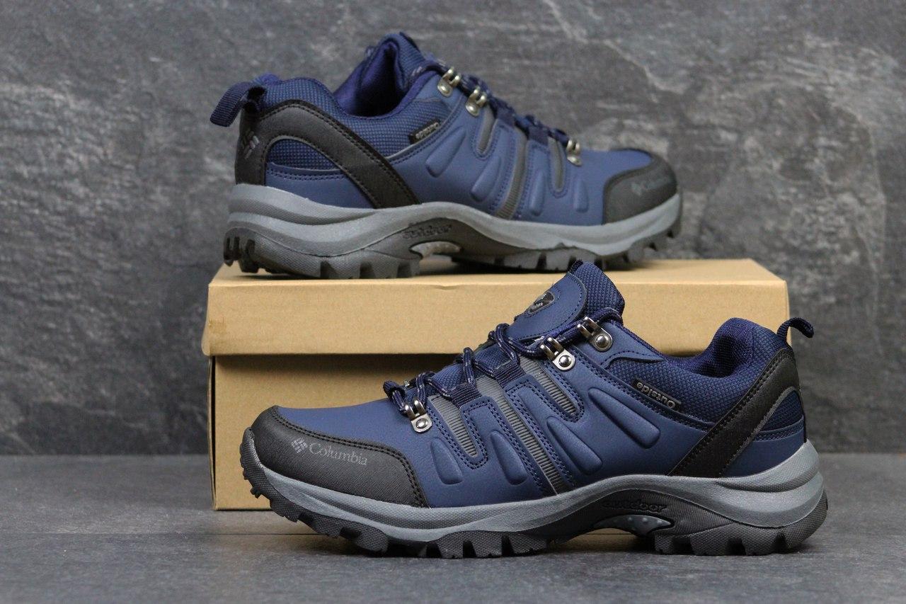 Мужские кроссовки Columbia,синие 41