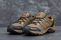 Мужские кроссовки Columbia,коричневые. Осень 2017