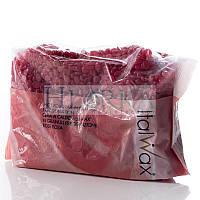"""Воск для депиляции горячий пленочный в гранулах """"Роза"""" (винный), 1 кг ItalWax"""