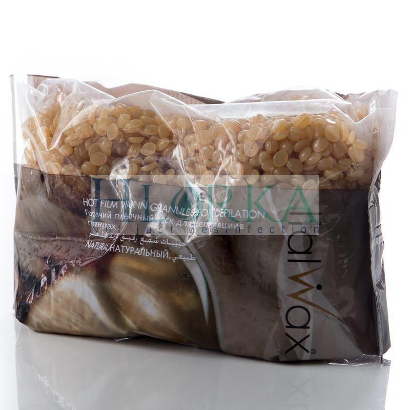 """Воск для депиляции горячий пленочный в гранулах """"Натуральный"""", 1 кг ItalWax"""
