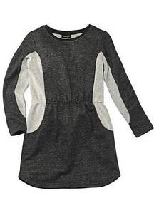 Платье для девочки серое Pepperts р.122/128, 134/140, 146/152