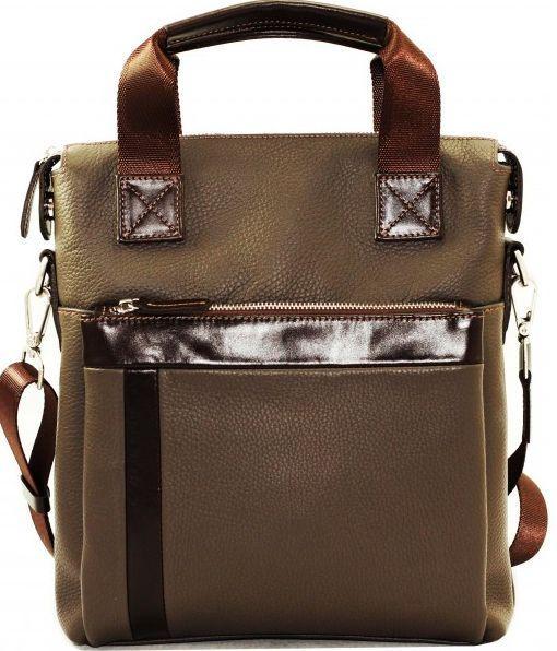 Мужская сумка из кожи VATTO MK41.2 F13KАZ400 серый