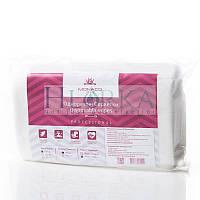 Салфетки, спанлейс, 20см*20см Гладкие (100 шт сложенные в пластах) ТМ Monaco Style