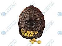 Корзина плетеная для хранения овощей и фруктов NATURAL HOUSE (PL01-L)