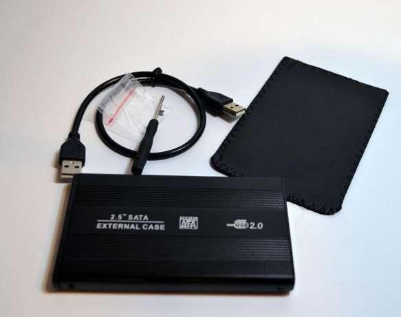Внешний карман для HDD U25B, карман для HDD жесткого диска 2.5 SATA. - TopTopShop интернет - магазин  в Харькове